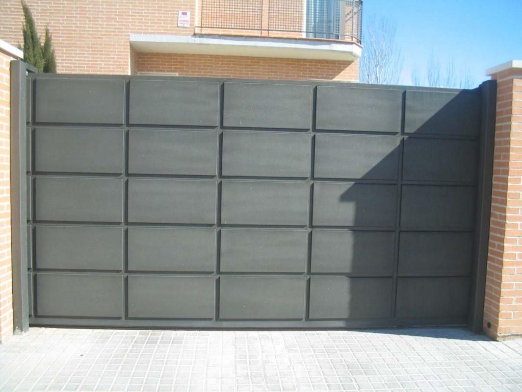 Puertas Correderas Puertas Molplasa - Puerta-corredera-metalica