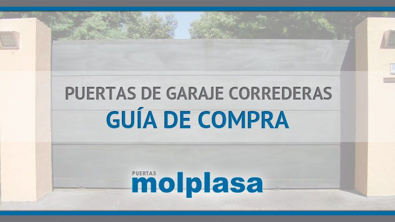 Puertas de garaje correderas gu a de compra puertas for Compra de garaje